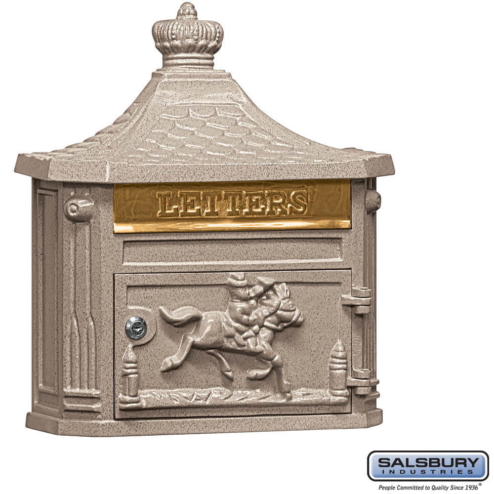 Victorian Residential Wall Mount Mailbox From Locking