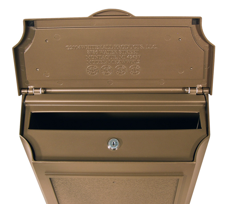 Whitehall Wall Mount Locking Mailboxes