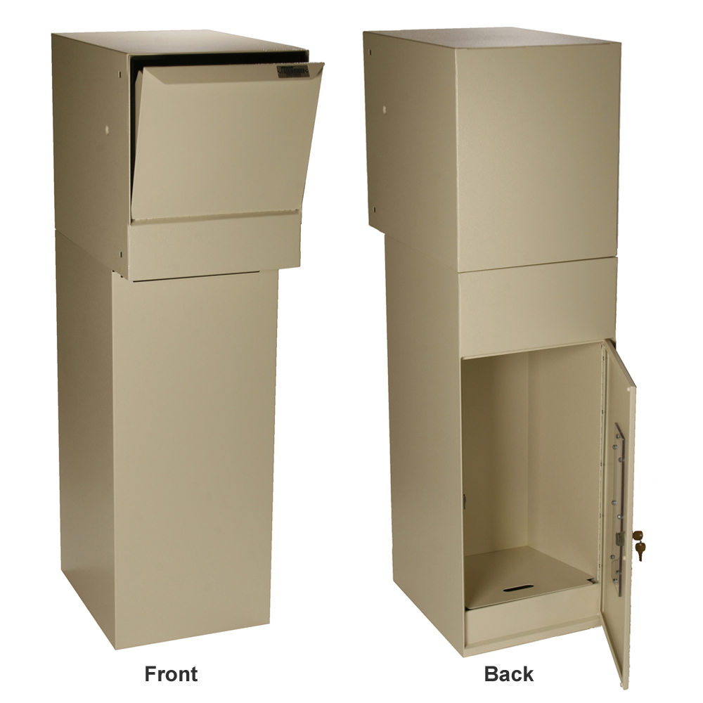 Dvault Wall Package Delivery Box Locking Mailboxes
