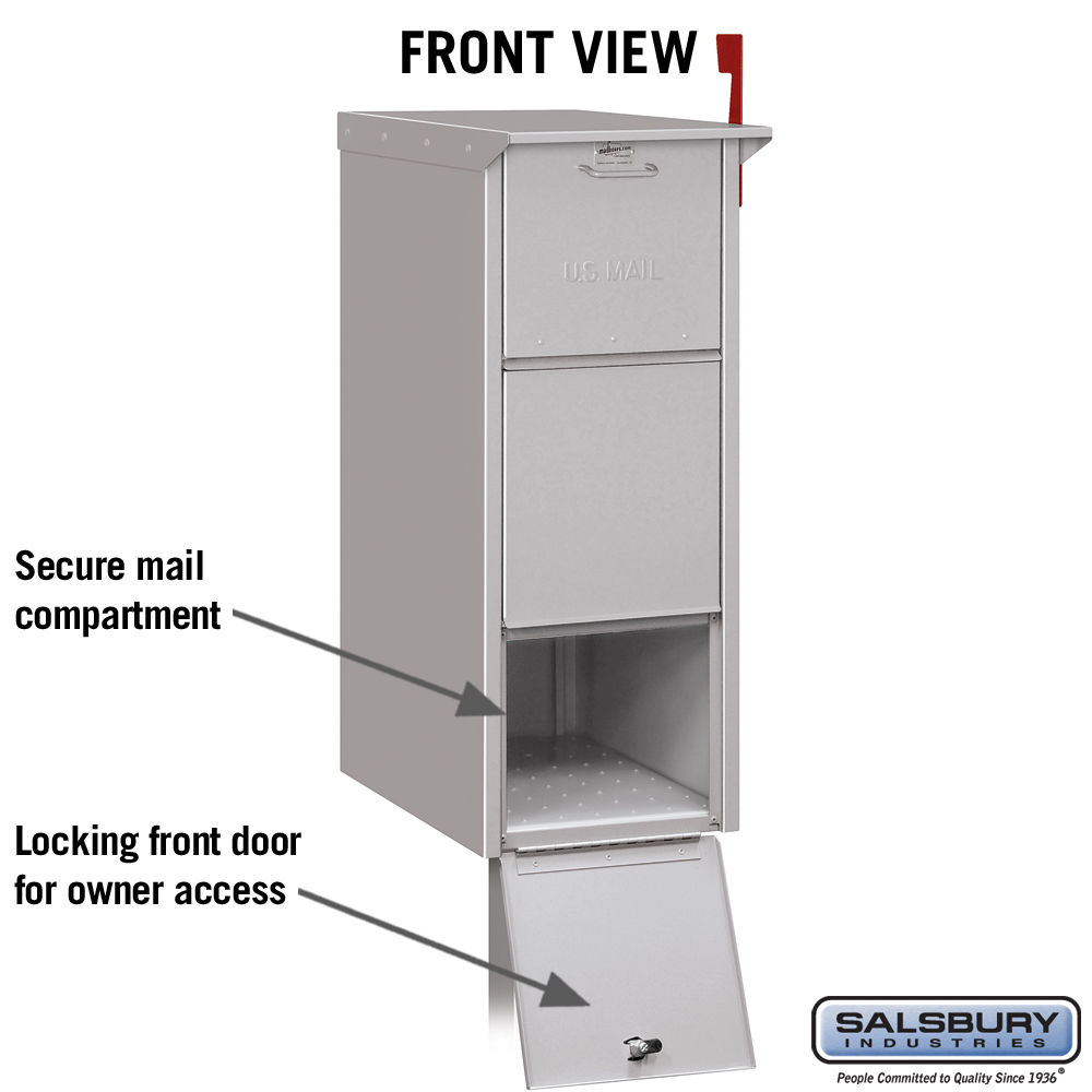 Mail Package Drop For Secure Curbside Mailboxes From