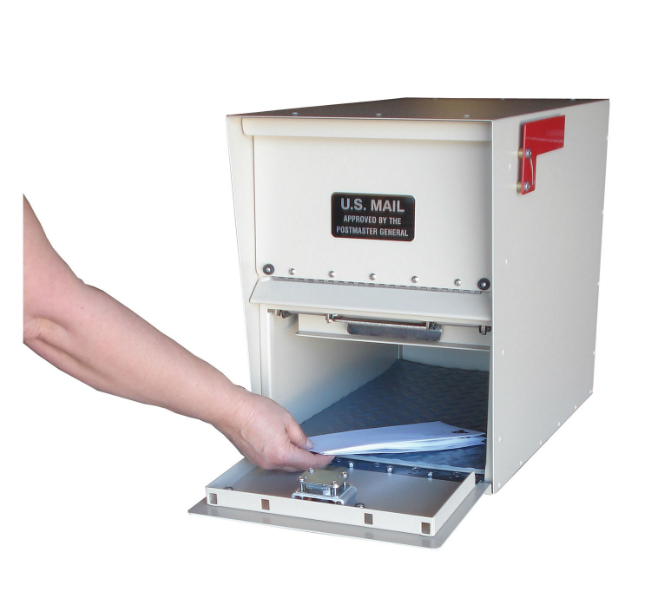 Standard Letter Locker For Curbside Mail Boxes By Locking