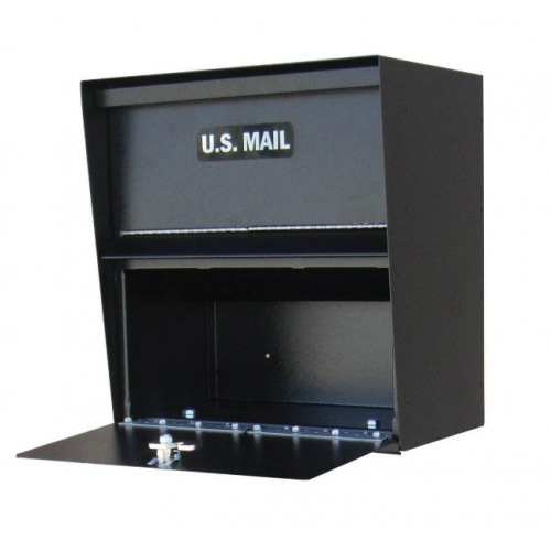 Horizontal Wall Mount Commercial Mailbox By Locking Mailboxes