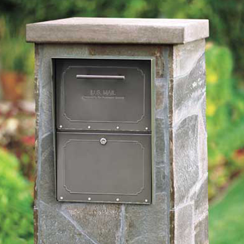 Column Mounted Mailboxes For Brick Or Stone Mail Columns
