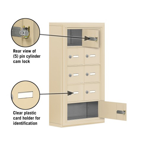 9 Door Surface Mounted Cell Phone Lockers From Locking