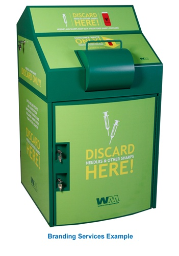 Sharps Secure Collection Containers From Locking Mailboxes