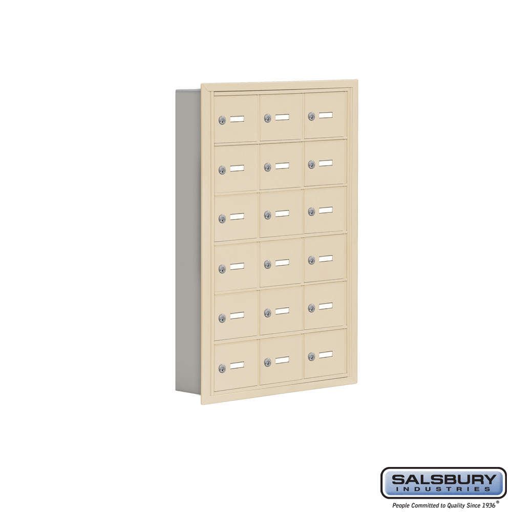 18 door surface mounted cell lockers from locking mailboxes for 18 door locker