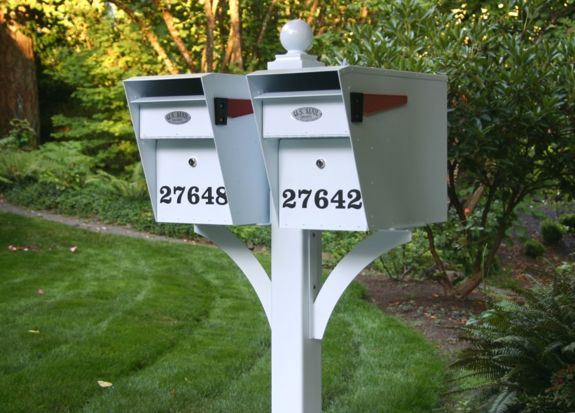 Columbia Mailbox Secure Curbside Mail Box By Locking Mailboxes